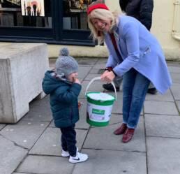 Genesis Trust bucket collection in town
