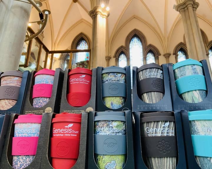 Genesis Trust ecoffee cups