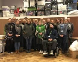 Genesis Trust Staff team photo at Gateway centre