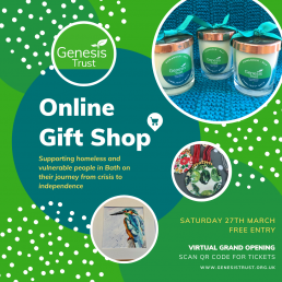 The online gift shop poster.
